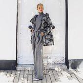 @caarliinaa_ con look de @yoweworld : Pantalón de @mantu_castor  Jersey de @rochasofficial  Plumífero de @herno_official