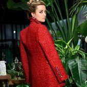 @barbara_abio con chaqueta de @shop_dimeromeo para @yoweworld ❤️❤️❤️❤️❤️ Vístete de rojo estás #navidades !!! #fiestasdenavidad #vistetedefiesta #invitadaperfecta #yoweworld #leonesp#santander