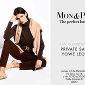 Nos complace invitaros a la Venta Privada de @monandpau en @yoweworld León!! El Jueves día 12 de Diciembre de 10,30 a 14,15 y de 17h a 20,30h  Calle del Carmen,8 ( león) La excelencia en piezas en ante y cuero elástico!!! @monandpau @yoweworld